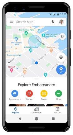 Aplicación de Google Maps