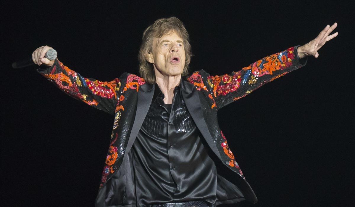 Mick Jagger durante la giraNo Filter Touren París