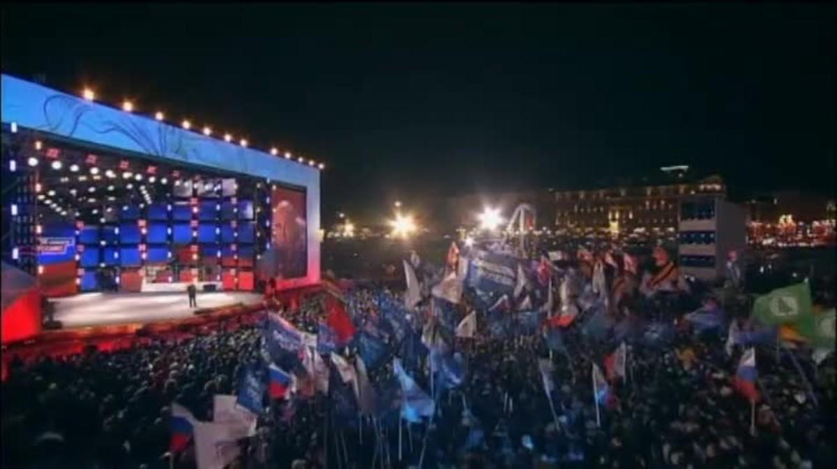 Ni la corrupció ni els problemes econòmics passen factura al president rus.