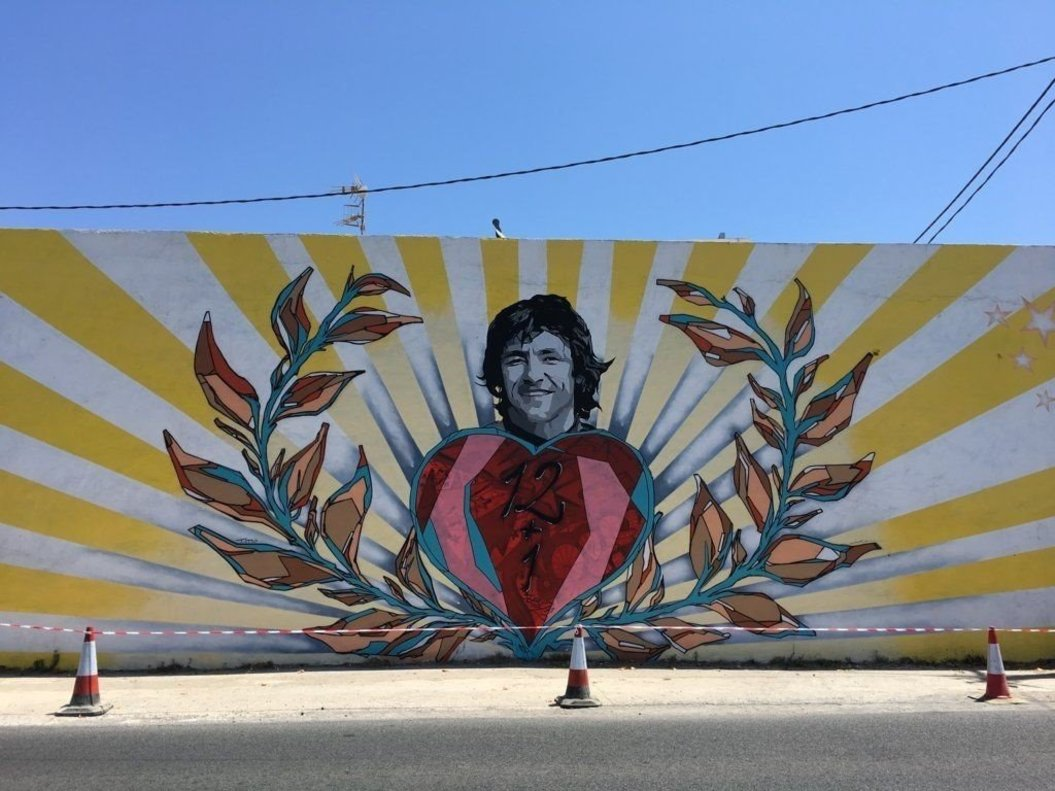 Mural de Ángel Nieto.
