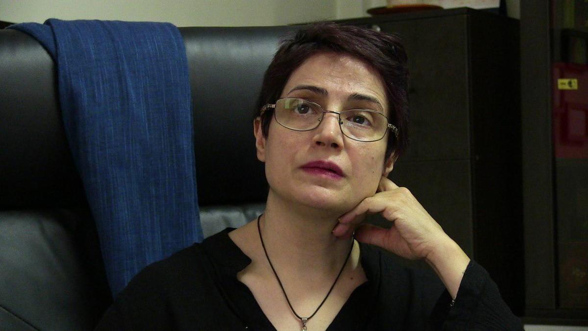 """Nasrin Sotoudeh: """"Gairebé totes les dones detingudes a l'Iran per treure's el hijab són torturades"""""""