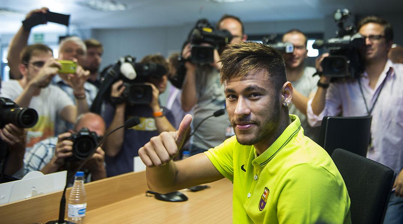 El delantero del Barça se muestra convendido de que su periodo de adaptación ha concluido.