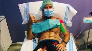 Pau Donés muestra el día a día de su lucha contra el cáncer.