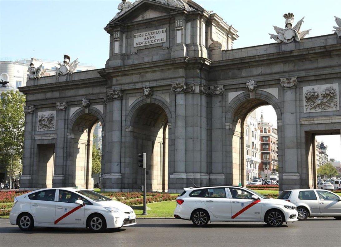 La Puerta de Alcalá en Madrid.