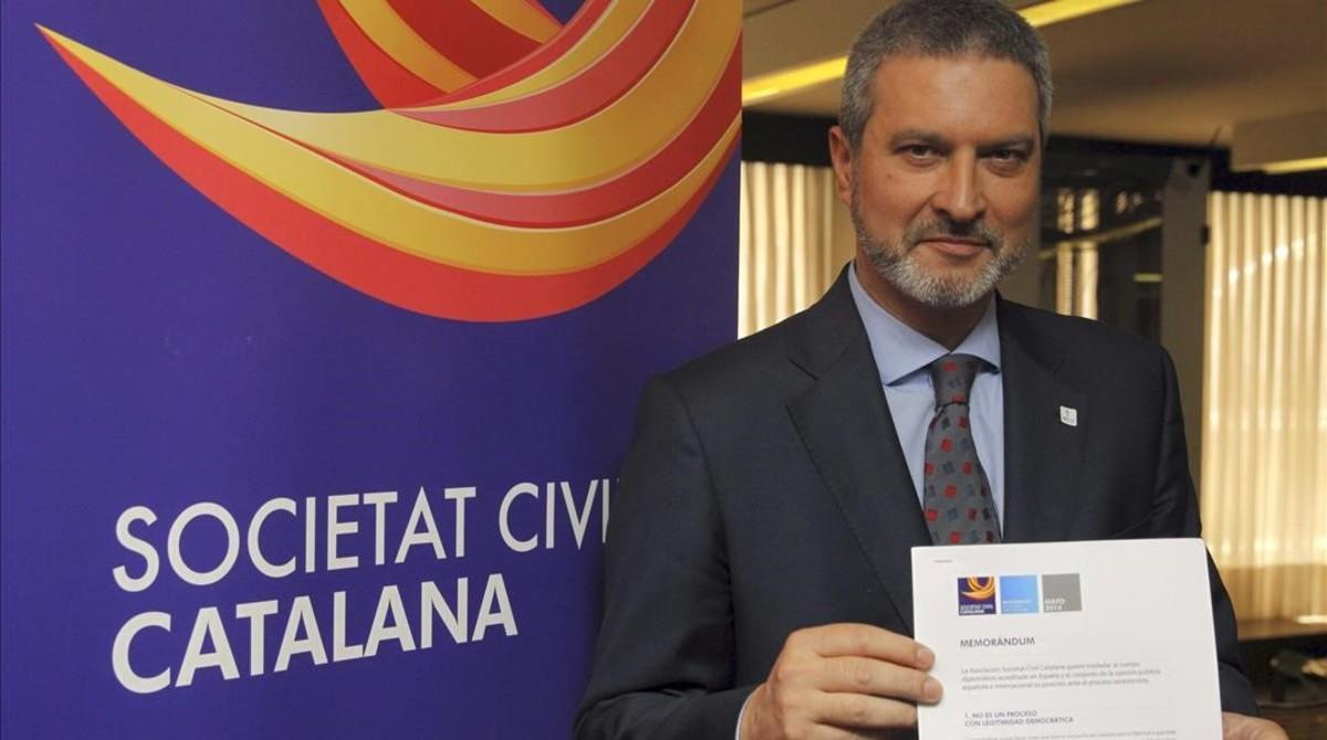 Josep Ramon Bosch, expresidente de Societat Civil Catalana.