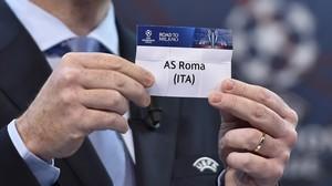 El Roma será el rival del Real Madrid