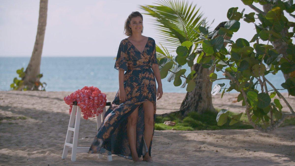 Sandra Barneda, en 'La isla de las tentaciones'.