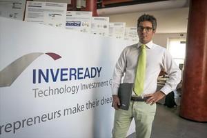 En la sede de Inveready 8 Carlos Conti, consejero delegado.