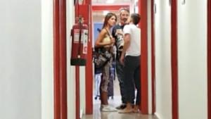 Alejandro Albalá y Sofía Suescun protagonizan una discusión en los pasillos de Telecinco