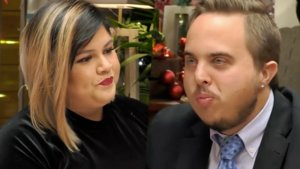 Suhanny y Daniel en 'First Dates'.