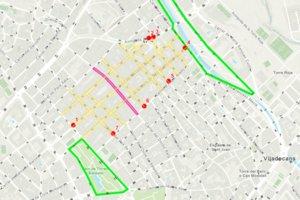 La 'superilla' de Viladecans se situará entre los barrios de Eixample y La Montserratina, los más densos del municipio