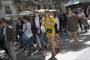 Catalunya ha sido el destino preferido de los turistas extranjerosen 2017, con 19 millones de visitantes.
