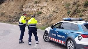 Una patrulla de Mossos dEsquadra en una imagen de archivo.