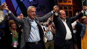 PNV y PSE ya muestran su voluntad de repetir coalición