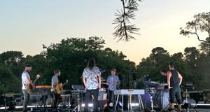 El grupo Vetusta Morla, en el concierto de los Veranos de la Villa.