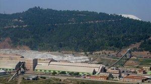 Vista exterior de la mina de Vilafruns.