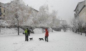 Protecció Civil alerta davant de la borrasca 'Gloria', per neu, vent i onatge