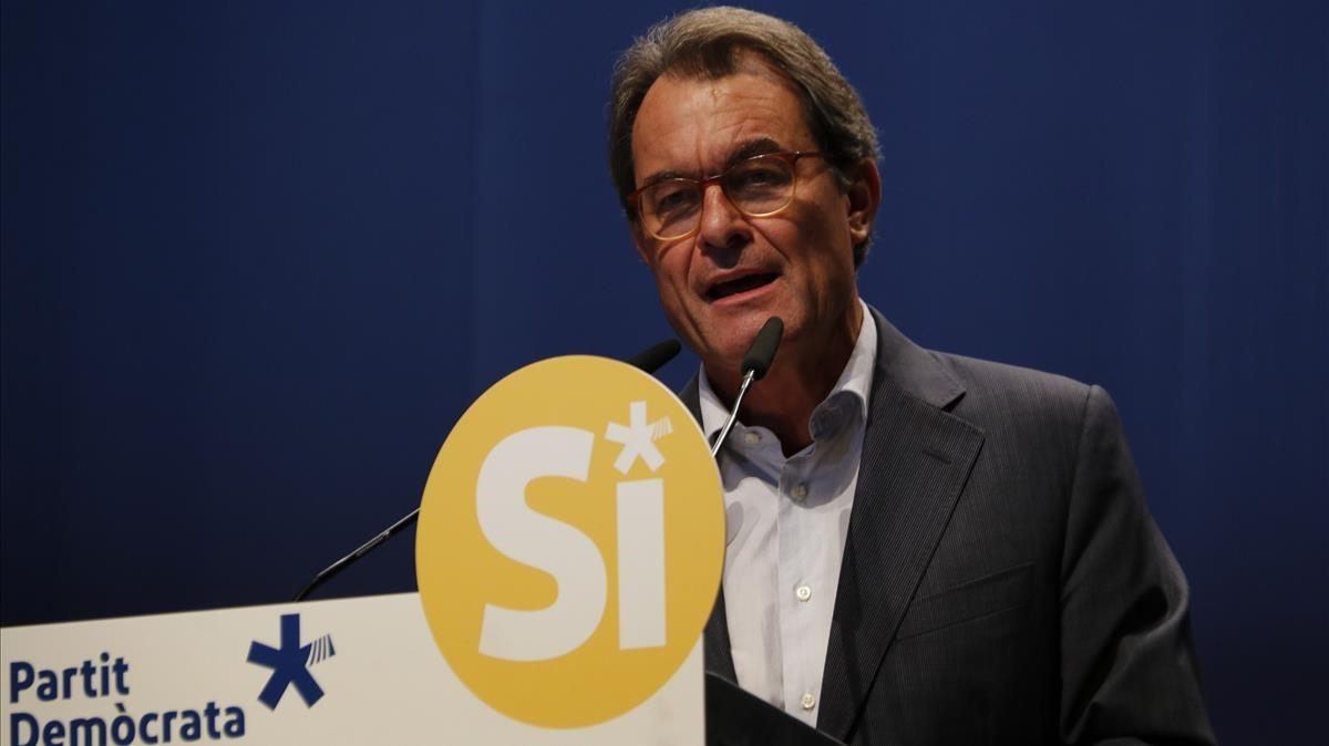 Una donació li pot costar a Artur Mas més del 50% d'impostos