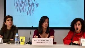 Cuevas, Ebrahim y Rodríguez, este miércoles en la rueda de prensa.