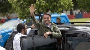 L'ultradretà Jair Bolsonaro guanya les presidencials al Brasil.