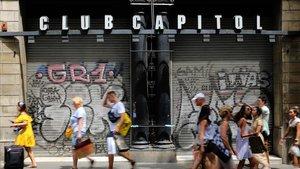 El Grup Balañá no preveu el tancament del Club Capitol, malgrat el temor d'Amics de la Rambla