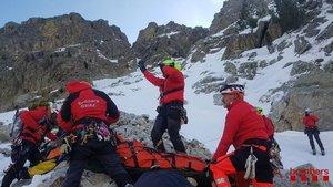 Cinc muntanyencs ferits en un accident a Setcases, el Ripollès