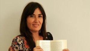 La ganadora del XVI Premio Tusquets de novela, Bárbara Blasco.