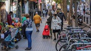 Calles comerciales de Sant Andreu.