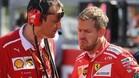 Vettel, destrozado en Japón