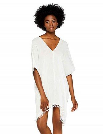 Vestido blanco de playa Iris & Lilly