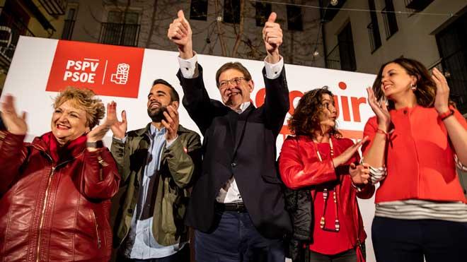 """Ximo Puig: """"Ha sigut complicat però la Comunitat Valenciana torna a ser la bandera del canvi"""""""