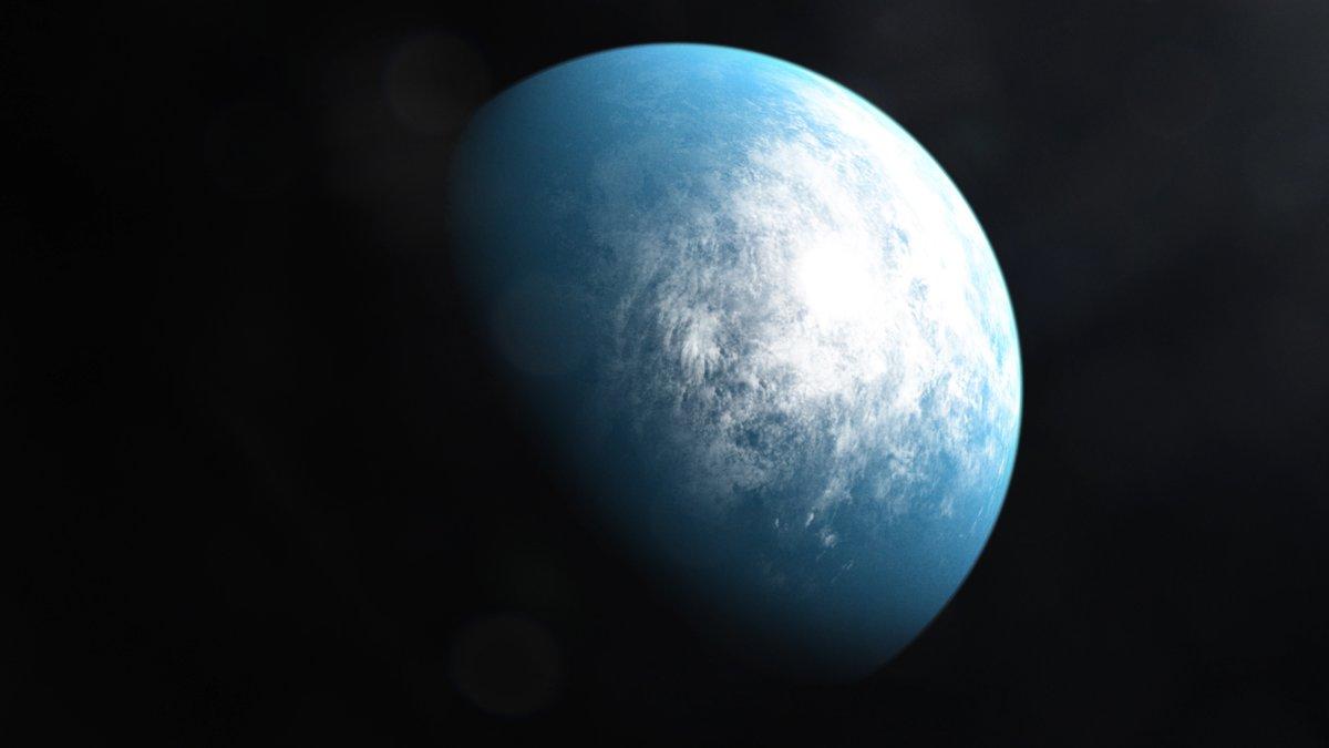 La NASA anunció el descubrimiento de un planeta