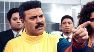 Un actor de Cuerpo de élite, caracterizado como presidente de Venezuela