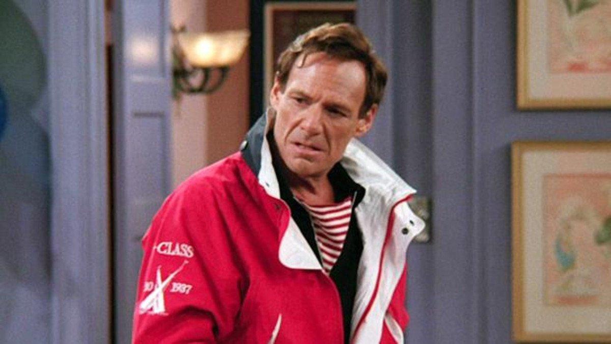 El actor Ron Leibman, en 'Friends'.