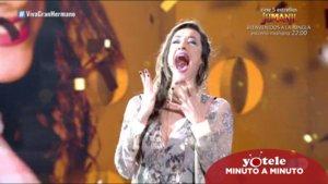 Adara al conocer que es la ganadora de 'GH VIP 7'