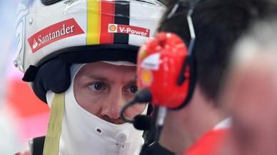 Vettel y Ferrari manda en los ensayos de Baréin