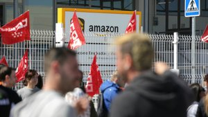 Els sindicats xifren en el 80% el seguiment de la vaga a Amazon