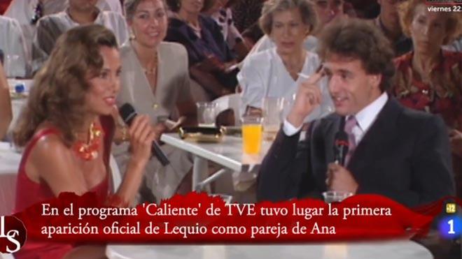 Ana y Alessandro en 1991 ('Caliente', La 1).