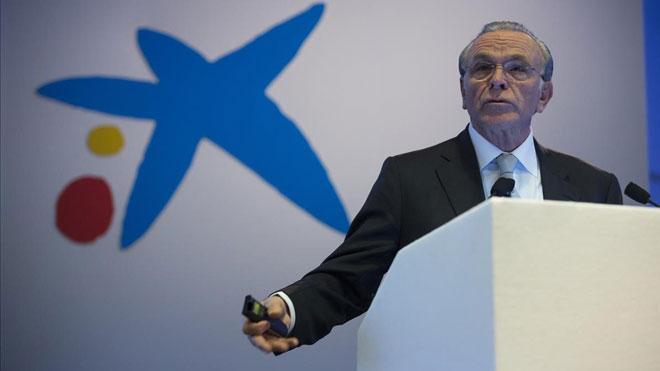 Bankia y CaixaBank reúnen a sus consejos para aprobar la fusión. En la foto,Isidre Fainé, presidente de la Fundación Bancaria la Caixa.