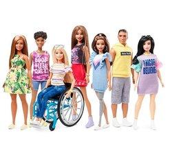 La nueva colección Fashionistas de Barbie.