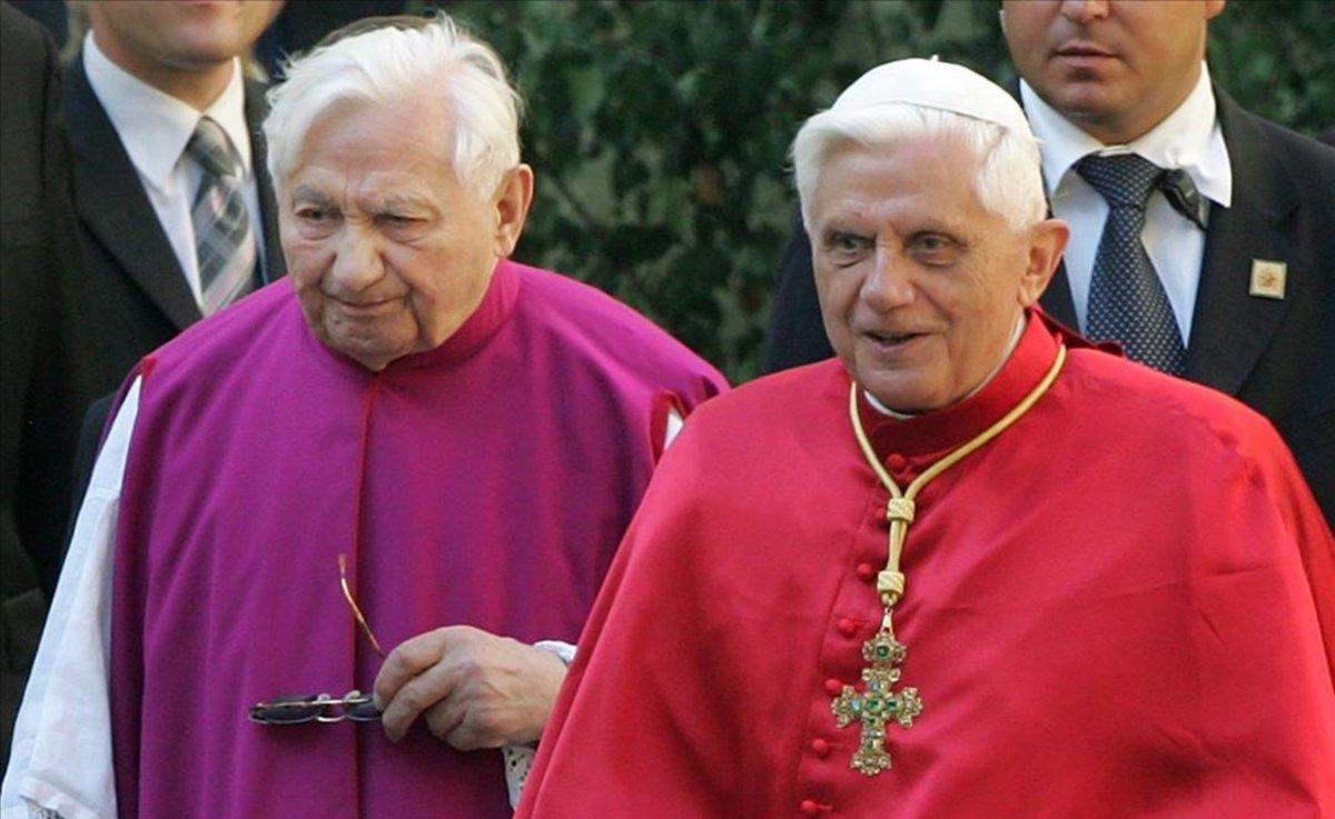 Muere el sacerdote Georg Ratzinger, hermano de Benedicto XVI