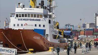 Francia acogerá a 132 refugiados del Aquarius y del Lifeline