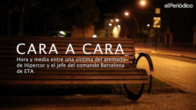 Cara a cara entre una víctima del atentado de Hipercor y el jefe del comando Barcelona de ETA.