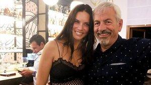 Carlos Sobera y su divertido encuentro con Adriana Lima, en Marbella.