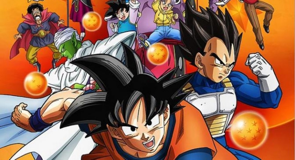 Cartel de Dragon Ball super