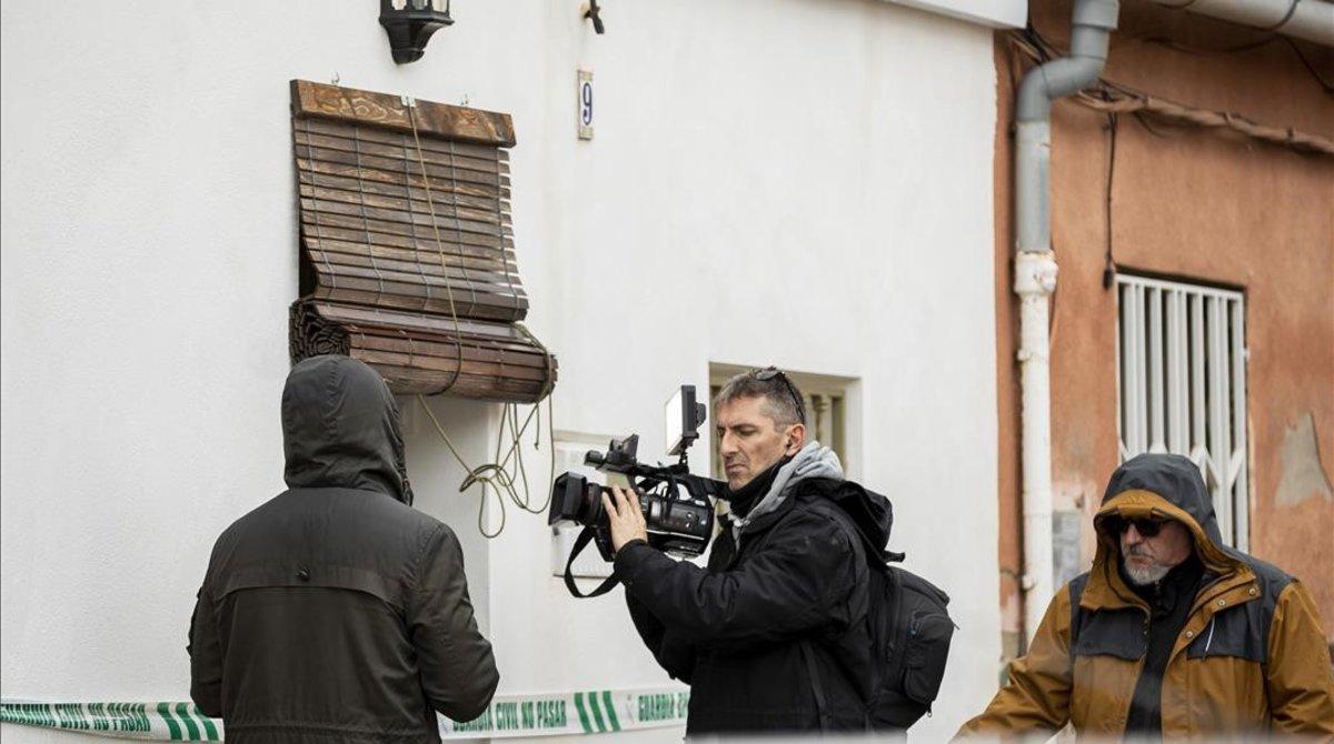 La casa del autor confeso del crimen de Marta Calvo.