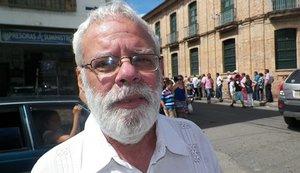 Imagen de Jorge Solano Vega, un líder social asesinado en Colombia.