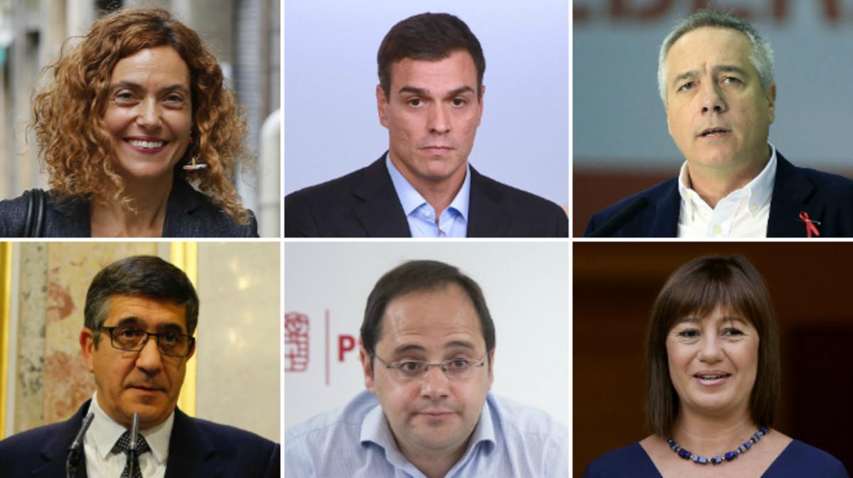 Estos son los 18 miembros de la ejecutiva del PSOE que no han dimitido