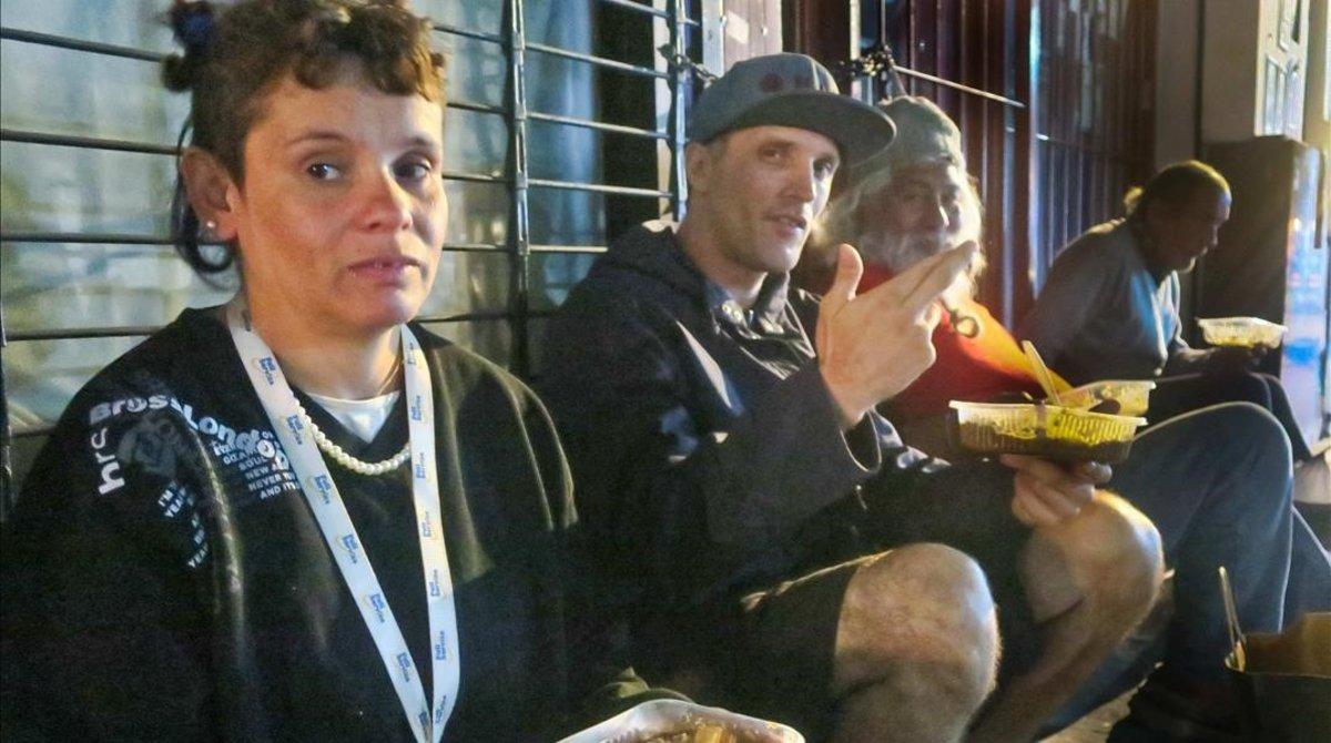 Un comedor social en Buenos Aires, esta semana.