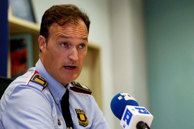 El comisario jefe de los Mossos, Eduard Sallent.